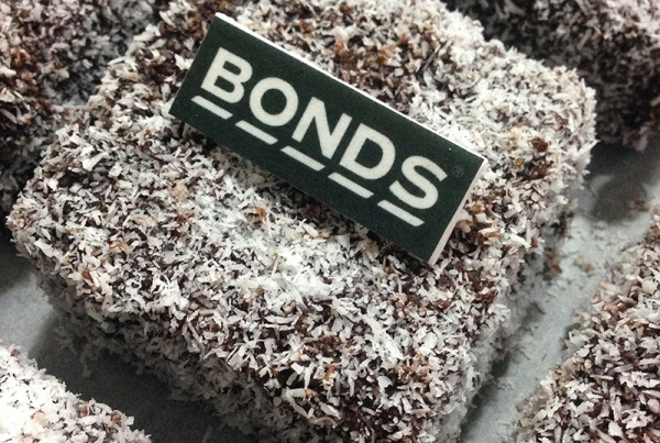 Corporate - Lamington cakes for Bonds