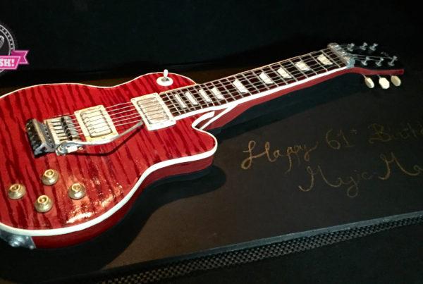 3D Cake - Electric Guitar