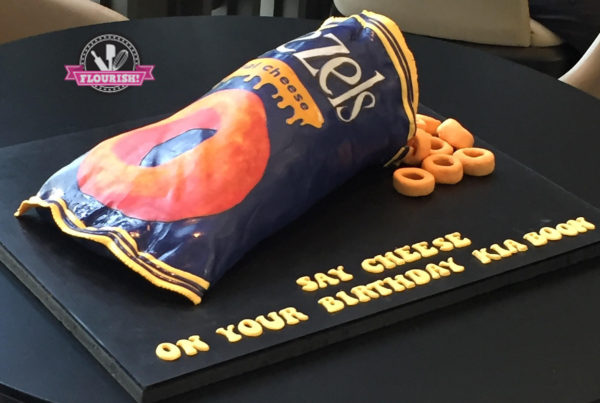 3D Cake - Say Cheese with a Packet of Cheezels