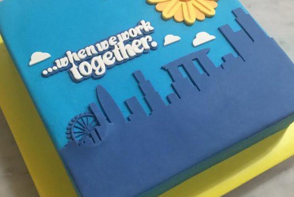 Novelty Cake - Kindness Movement Singapore